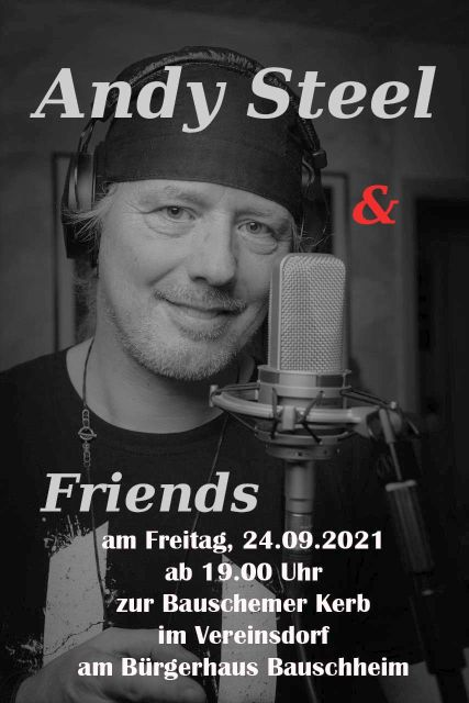 Kerwe Freitag mit Andy Steel and Friends