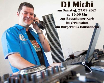 Kerwe Samstag mit DJ Michi