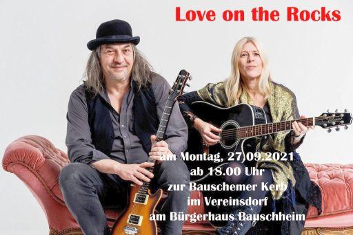 Kerwe Montag mit Love on the Rocks